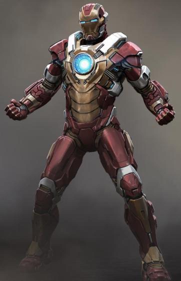A armadura Heartbreaker é uma das que tem destaque: poucos segundos de tela.