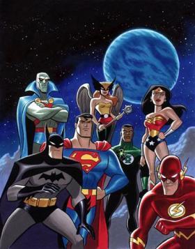 Liga da Justiça: a mais popular versão.
