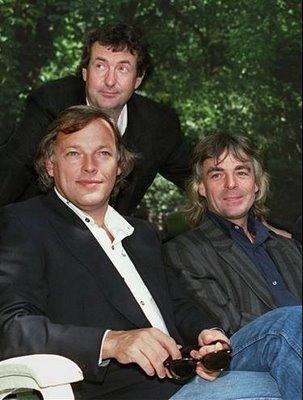 O Pink Floyd reunido nos anos 1980, sem Roger Waters: sucesso.