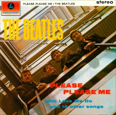 A capa de Please Please Me: 50 anos de Beatles.