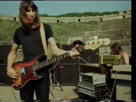 Roger Waters foi o grande mentor do Pink Floyd. Aqui em 1971.