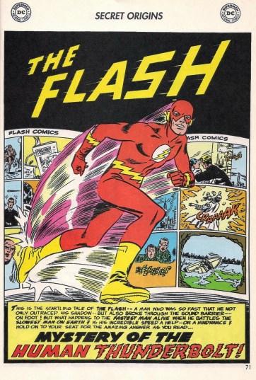 Barry Allen ganha uma nova origem após Crise nas Infinitas Terras.