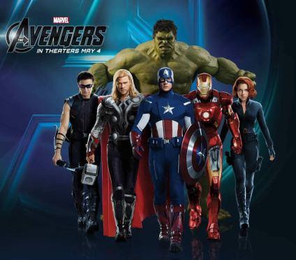 Vingadores: Marvel a caminho do topo da liderança mundial.