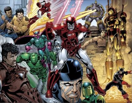 Guerra das Armaduras: definindo quem é Tony Stark.
