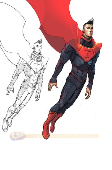 Superman no ano 3000.