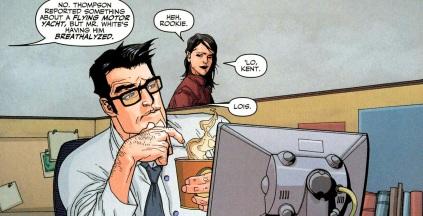 Clark e Lois em O Legado das Estrelas.