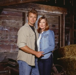 Jonathan e Martha Kent em Smallville: mais jovens.