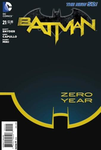 zero year cover batman 21 2013