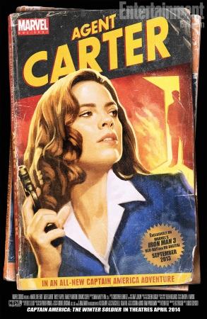 Peggy Carter: papel de destaque no filme?