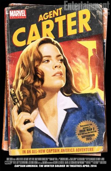 Poster de Agent Carter, o filme: curta-metragem de bônus em Homem de Ferro 3.