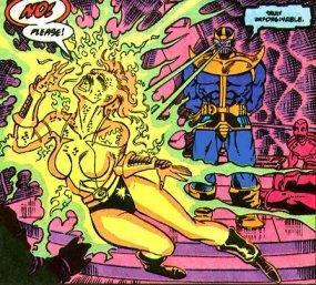 Thanos destrói Nebula: acerto de contas.