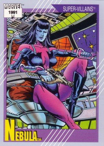 Nebula: reforçando as personagens femininas da Marvel.