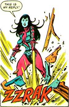 Nebula: uma das maiores vilãs dos Vingadores.