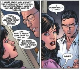 Lois e Clark: não mais casados.
