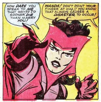 O visual original de Jack Kirby: mais fantasioso.