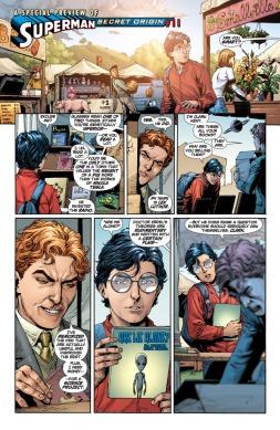 O primeiro encontro entre Clark e Lex em Origem Secreta.