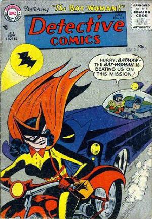Detective Comics 233 cover batwoman