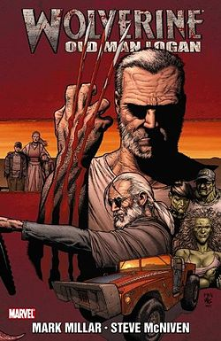 Old Man Logan, o Velho Logan: futuro desolador.