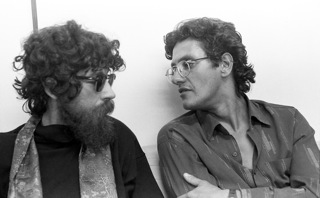 Raul Seixas e Cláudio Roberto, seu principal parceiro a partir do fim dos anos 1970.