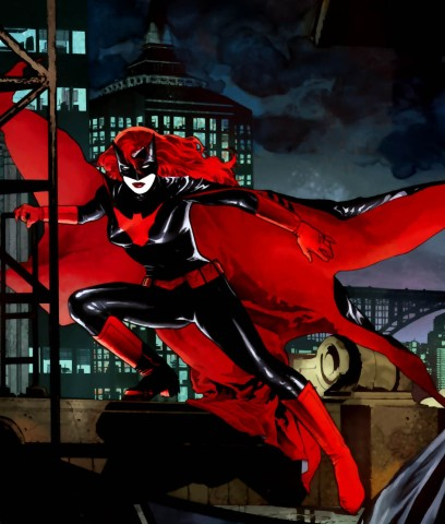 Batwoman na arte de J.H. Williams III.