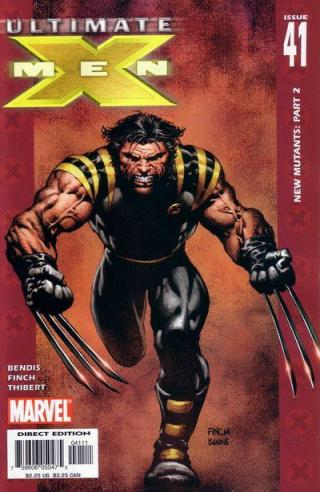 Capa de Ultimate X-Men 41.