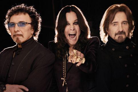 Iommi, Osbourne e Butler: pela primeira vez, o trio no Brasil.