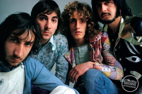 The Who em 1970, no auge da popularidade.