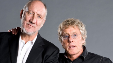 Townshend e Daltrey são os remanescentes do The Who.