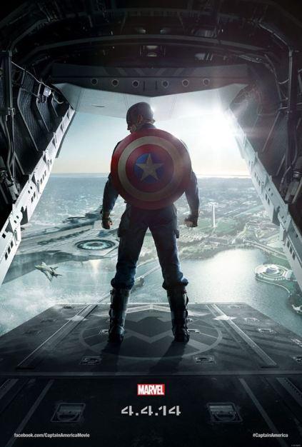 Novo poster do filme, com Washington, DC ao fundo.