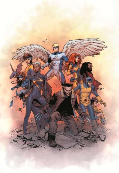 Capa de X-Men : Gold por  Olivier Coipel.