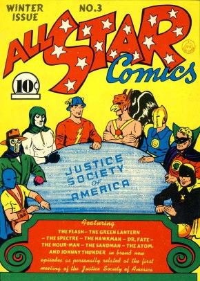 A estreia da Sociedade da Justiça: