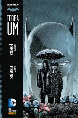 Terra Um: origem realística do Batman por Geoff Johns.