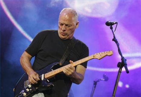 David Gilmour: conduz o Pink Floyd numa viagem sonora espacial e etérea.