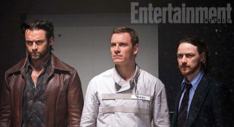 Wolverine, Magneto e Xavier nos anos 1970: a tensão entre os amigos move o filme.