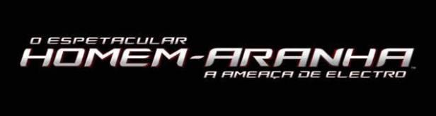 O logo oficial de O Espetacular Homem-Aranha 2.
