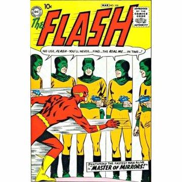 A revista Flash é reiniciada.