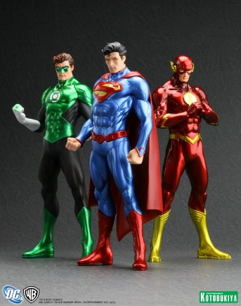 Lanterna Verde (esq.) e Flash (dir.): juntos no cinema?