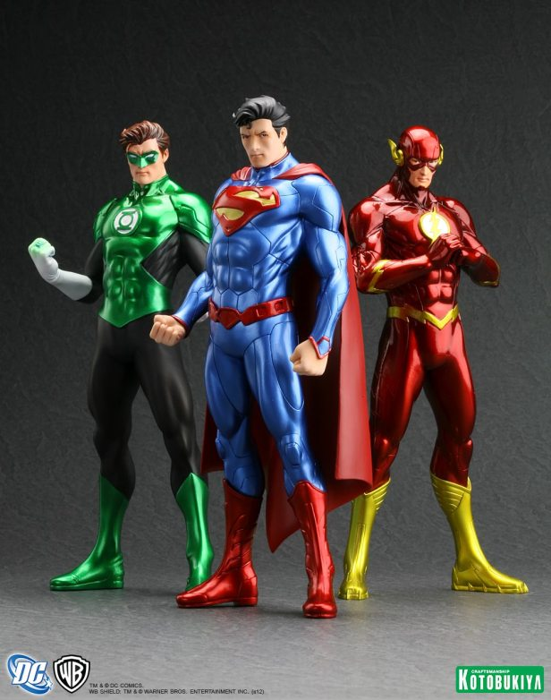 flash green lantern superman toys new 52