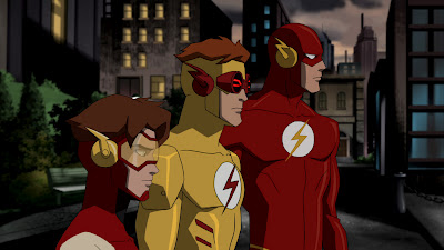 Flashes em Young Justice.