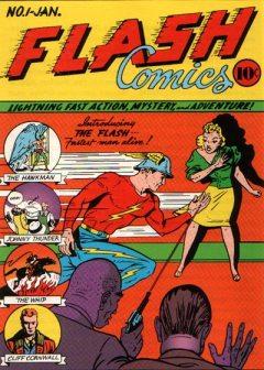 Flash Comics 01 traz a estreia do Flash.