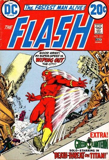 Capa de Flash. 221, por Nick Cardy.