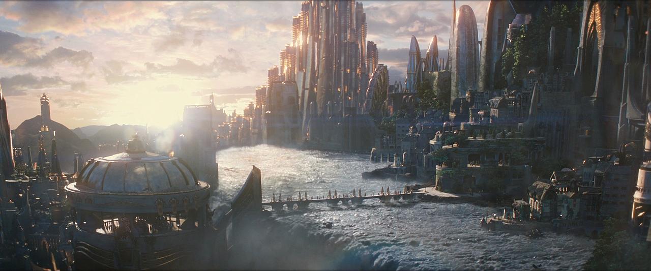 thor 2 asgard view