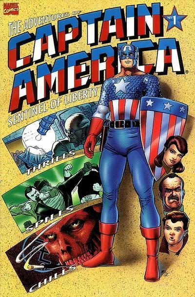 Aventuras do Capitão América: origem detalhada.