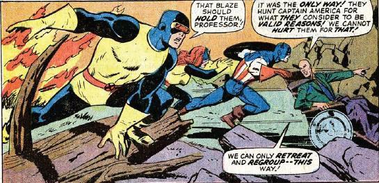 Captain America 173_XMen feature