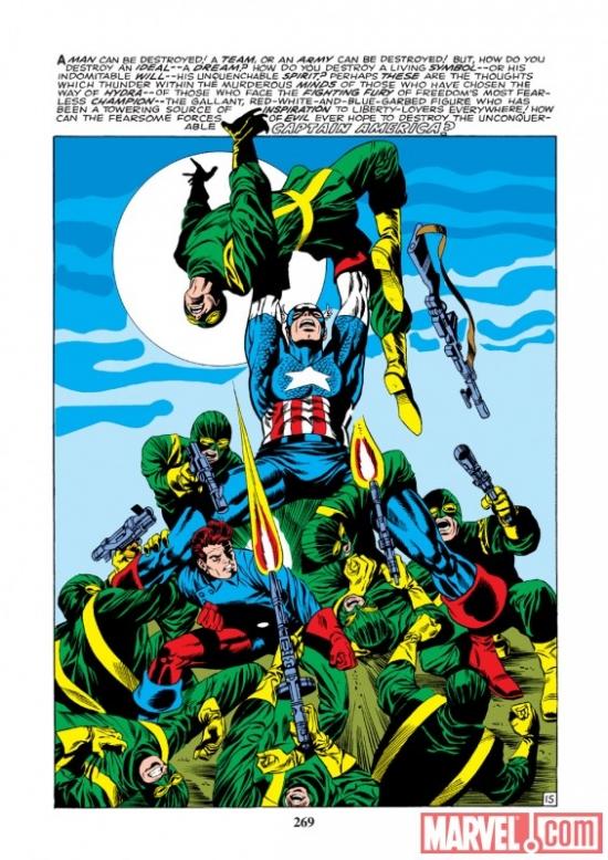 Capitão América contra a HIDRA por Jim Steranko: clássico psicodélico.