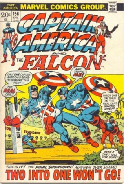 Capitães América em guerra!