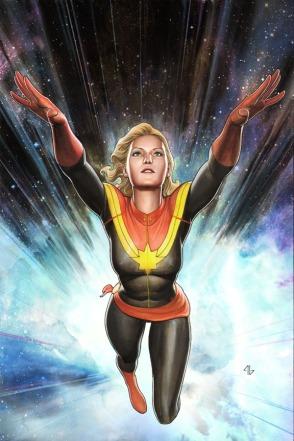 Capitã Marvel:  filme em 2018.