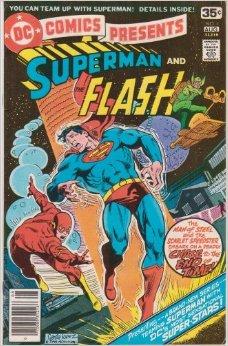 O Flash nos anos 1970: menos interesse dos fãs.