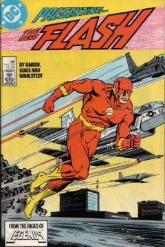 A revista Flash ganha um volume 2, em 1987.