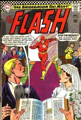 O casamento de Barry Allen e Iris West.